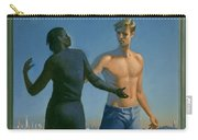 19. Jesus Appears To Mary / From The Passion Of Christ - A Gay Vision Carry-all Pouch