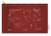 1900 Landstad Automatic Revolver Patent Carry-all Pouch