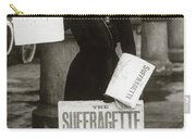 1900s British Suffragette Woman Carry-all Pouch