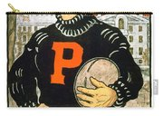 1901 - Princeton University Football Poster - Color Carry-all Pouch