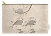 1903 Golf Club Patent Carry-all Pouch