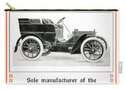 1904 - Daimler Motor Company Mercedes Advertisement - Color Carry-all Pouch