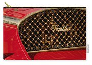 1904 Franklin Open Four Seater Grille Emblem Carry-all Pouch by Jill Reger