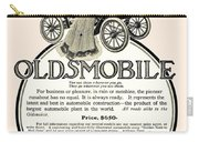 1904 - Oldsmobile Automobile Advertisement Carry-all Pouch