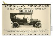 1907 - Daimler Manufacturing Company - American Mercedes Demi Limousine Automobile Advertisement Carry-all Pouch