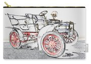 1907 Cadillac Colored Pencil Carry-all Pouch