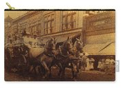 1908 Nickel-plated  Nott Steamer Fire Truck July 4th Parade East Congress Tucson Arizona 1909-2009 Carry-all Pouch
