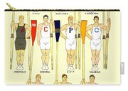 1910 - College Crew Poster - Rowing - Edward Penfield - Color Carry-all Pouch