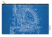 1910 Cash Register Patent Blueprint Carry-all Pouch