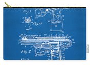 1911 Automatic Firearm Patent Artwork - Blueprint Carry-all Pouch