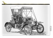 1911 Ford Model T Tin Lizzie Carry-all Pouch by Jack Pumphrey