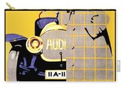1912 - Audi Automobile Advertisement Poster - Ludwig Hohlwein - Color Carry-all Pouch
