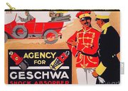 1913 - Geschwa Automobile Shock Absorber Adbertisement - Color Carry-all Pouch