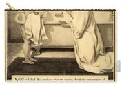 1913 - Proctor And Gamble - Ivory Soap Advertisement Carry-all Pouch