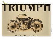 1913 Triumph Now Carry-all Pouch