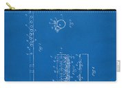 1914 Flute Patent - Blueprint Carry-all Pouch