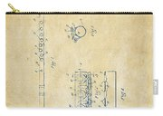 1914 Flute Patent - Vintage Carry-all Pouch