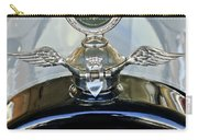 1915 Chevrolet Touring Hood Ornament Carry-all Pouch by Jill Reger