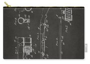1915 Ithaca Shotgun Patent Gray Carry-all Pouch