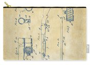 1915 Ithaca Shotgun Patent Vintage Carry-all Pouch