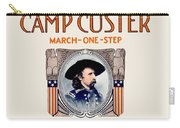 1917 - Camp Custer March One Step Sheet Music - Edward Schroeder - Color Carry-all Pouch