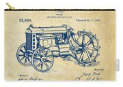 1919 Henry Ford Tractor Patent Vintage Carry-all Pouch