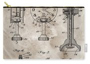 1920 Clock Patent Carry-all Pouch