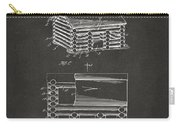 1920 Lincoln Logs Patent Artwork - Gray Carry-all Pouch