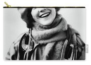 1920s 1930s Smiling Woman Dressed Carry-all Pouch
