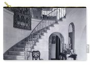 1920s Upscale Home Entry With Spiral Carry-all Pouch