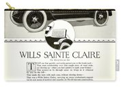 1921 - Wills Sainte Claire Automobile Roadster Advertisement Carry-all Pouch
