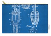 1921 Explosive Missle Patent Blueprint Carry-all Pouch by Nikki Marie Smith