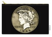 1922 Circulated Peace Dollar Carry-all Pouch