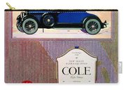 1922 - Cole 890 - Advertisement - Color Carry-all Pouch