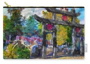 1922 Japanese Bridge At Laura Bradley Park 02 Carry-all Pouch