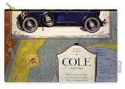 1923 - Cole 890 - Advertisement - Color Carry-all Pouch