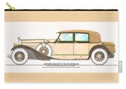 1923 Hispano Suiza Club Sedan By R.h.dietrich Carry-all Pouch