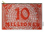 1923 Ten Million Mark German Stamp Carry-all Pouch