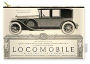 1924 - Locomobile Victoria Sedan Automobile Advertisement Carry-all Pouch