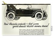 1924 - Oldsmobile Six Automobile Advertisement Carry-all Pouch