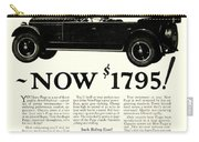 1924 - Paige Automobile Advertisement Carry-all Pouch