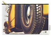 1924 - Dunlop Tires French Advertisement Poster - Color Carry-all Pouch