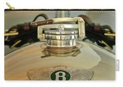 1925 Bentley 3-liter 100mph Supersports Brooklands Two-seater Radiator Cap Carry-all Pouch