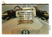 1925 Bentley 3-liter 100mph Supersports Brooklands Two-seater Radiator Cap Carry-all Pouch by Jill Reger
