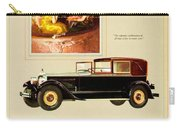 1926 - Packard Automobile Advertisement - Color Carry-all Pouch