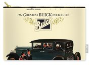 1927 - Buick Automobile - Color Carry-all Pouch