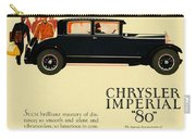 1927 - Chrysler Imperial Model 80 Automobile Advertisement - Color Carry-all Pouch