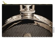 1927 Bugatti Replica Hood Ornament - Emblem Carry-all Pouch