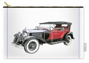 1927 La Salle Dual Cowl Phaeton Carry-all Pouch