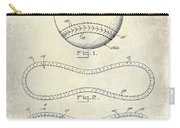 1928 Baseball Patent Drawing  Carry-all Pouch